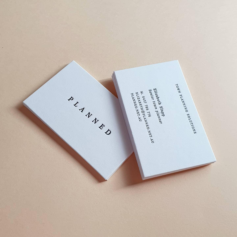 Luxury stationery Custom Letterpress Printing Wollongong Graphic Design Personalised Stationery Custom Letterpress