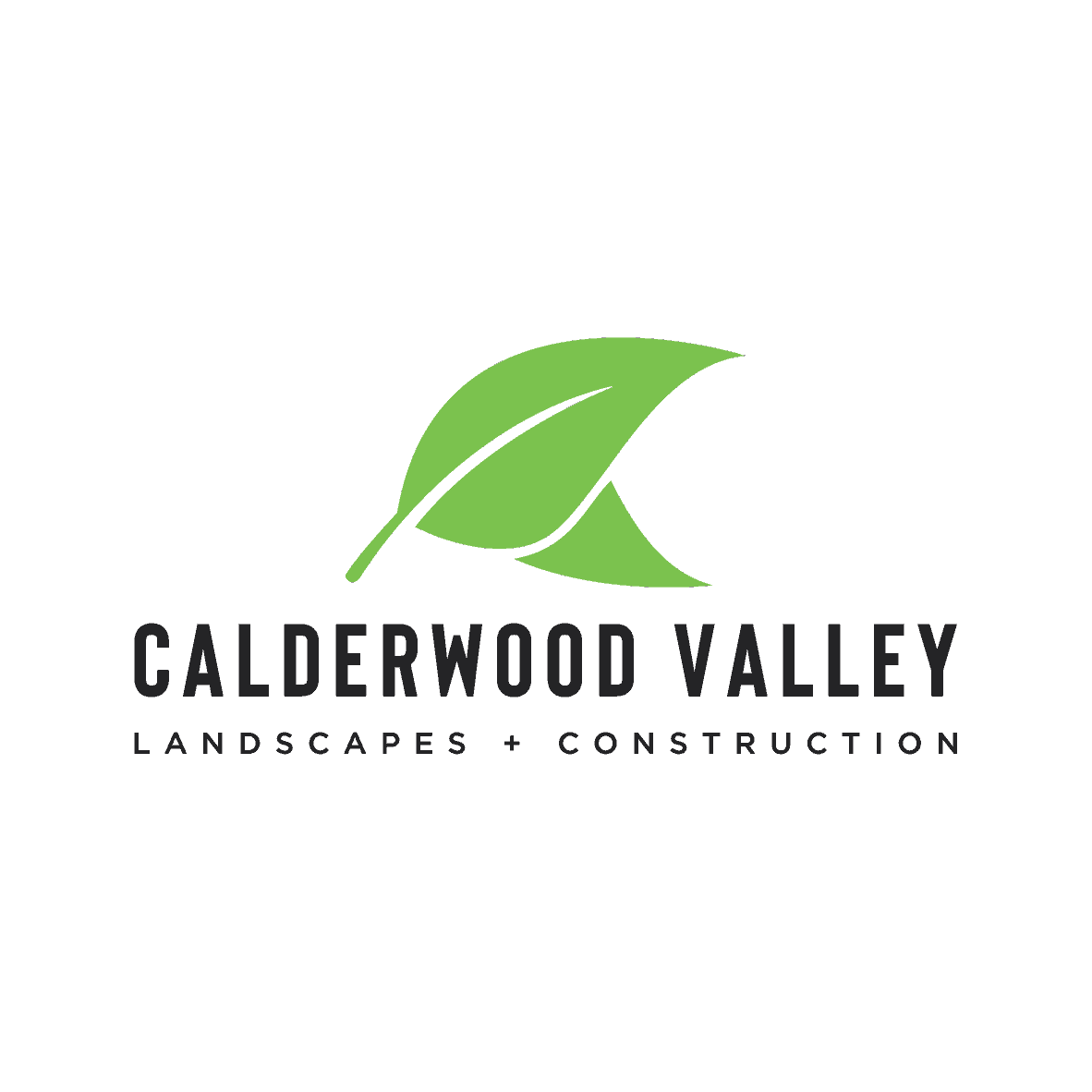Calderwood Valley Landscapes and Construction - main logo colour